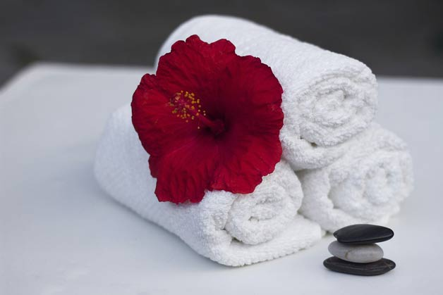 towels for spa wrap