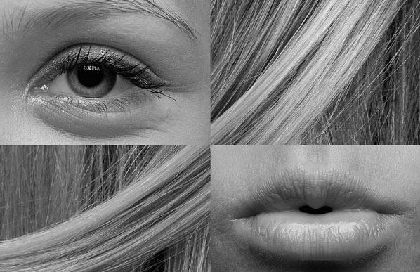 eye hair compilation
